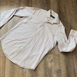Mens Polo Ralph Lauren Plaid Button Down Medium